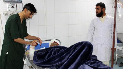 Casualties after attack on Afghan police base in Khost city