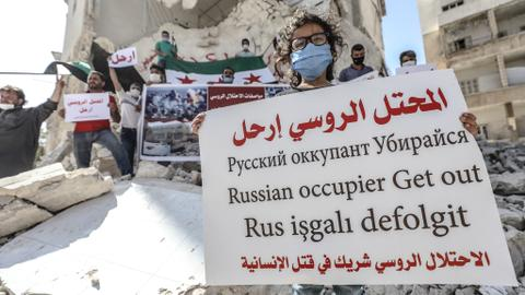 Is Russia attacking Syria's Idlib to distract Turkey from Azerbaijan?