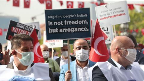 Turkey: French magazine Charlie Hebdo spreading 'cultural racism'