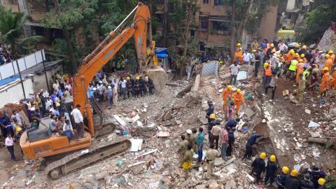Mumbai building collapse kills at least four