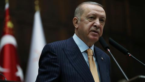 Erdogan: No true Muslim can be a terrorist