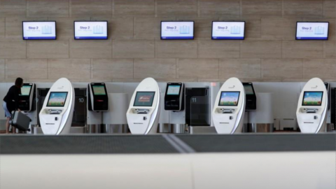 New Singapore air terminal automates departures with face recognition