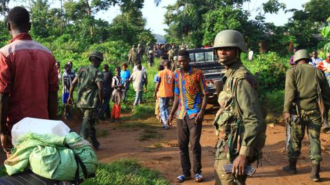 ADF militia kills scores in eastern DRC