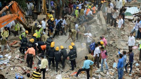 Death toll in Mumbai building collapse climbs to 17