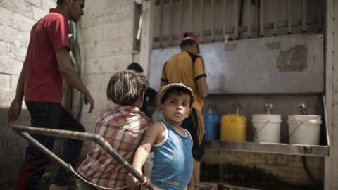 Gaza's looming humanitarian crisis