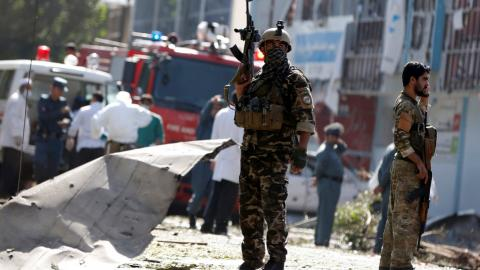 Dozens of Afghan soldiers killed in latest Taliban attack