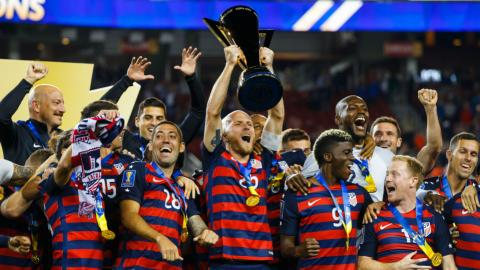US gets Gold Cup soccer title for 88th-minute goal