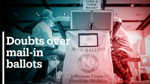 Trump warns of mail-in ballot fraud, provides no evidence