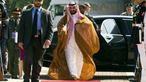 Who in the Muslim world fears Saudi King Salman's successor?