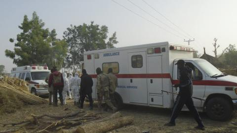At least 50 dead in operation to rescue abducted oil team in Nigeria