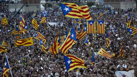 Madrid files legal bid to halt Catalan referendum