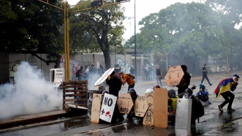 Venezuelan opposition in final protest push ahead of Sunday vote