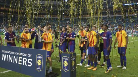 Barcelona beat Real Madrid in pre-season El Clasico