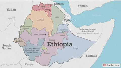 Thousands of refugees from Ethiopia's Amhara cross into Sudan