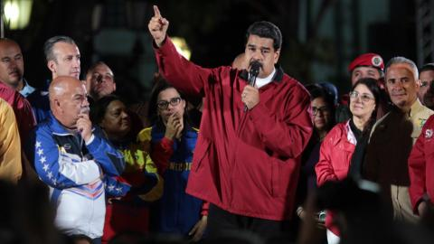 US hits Venezuela's President Nicolas Maduro with financial sanctions