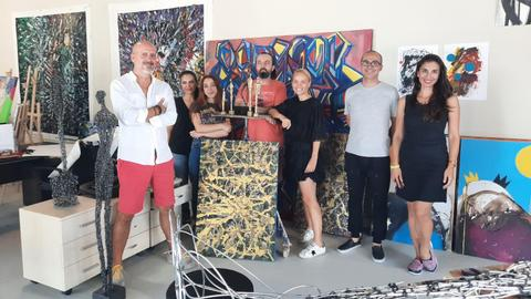 The Art for Good Association seeks to help young Turkish artists