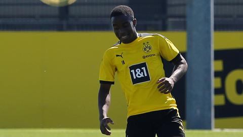 Dortmund's Moukoko waits to become youngest player in Bundesliga history