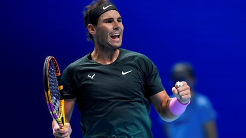 Nadal reaches ATP semis after defeating Tsitsipas