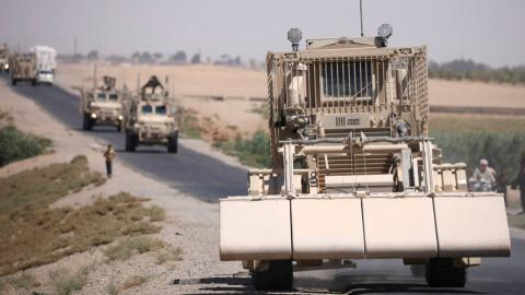 US delivers more than 100 trucks filled with weapons to the YPG