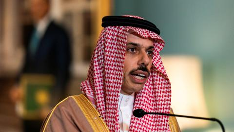 Saudi foreign minister says relations with Turkey 'good, amicable'