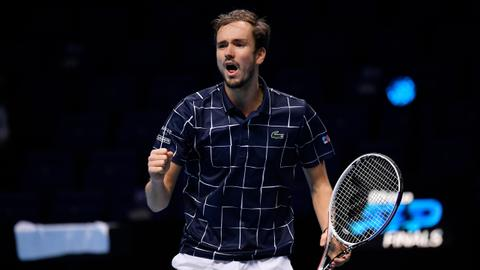 Medvedev beats Nadal to set up title match against Thiem at ATP Finals
