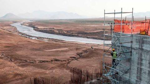 Sudan boycotts talks over Ethiopia's disputed dam on Nile River