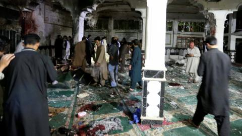 Attack on Shia mosque in Afghanistan kills at least 29 people