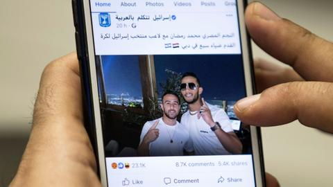 Fury as Egypt actor takes selfies with Israelis