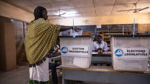 Polls close in Burkina Faso election as many don't vote amid violence fears