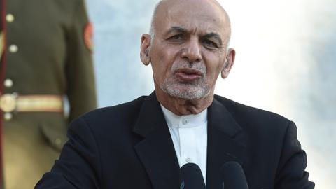 Afghanistan's Ghani vows to pursue Taliban negotiations amid donations push