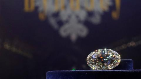 Tennis ball-sized 'diamond in the rough' too big to sell