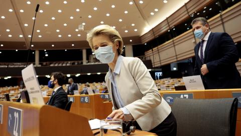 EU chief warns against relaxing Covid-19 measures
