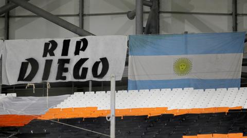 Tributes pour in following death of football legend Diego Maradona
