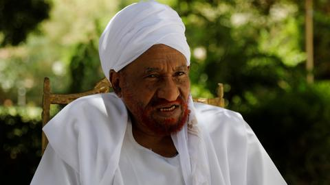 Sudan's ex-PM Sadiq al Mahdi dies from Covid-19 at 84