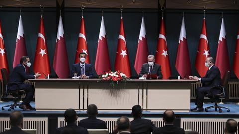 Turkey, Qatar ink new cooperation deals