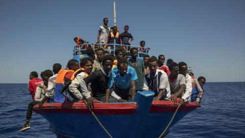Libyan armed faction targets foreign ships