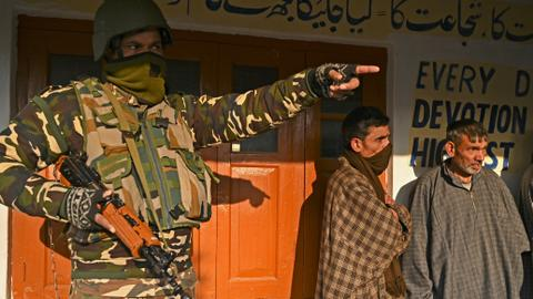 Local elections test Modi's influence in disputed Kashmir