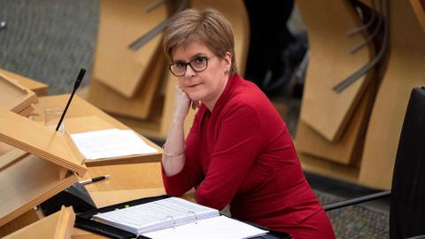 Sturgeon: Scotland's independence from UK 'is in clear sight'