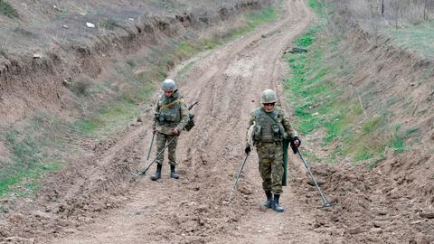 Azerbaijan: Mine blast kills many in newly liberated region