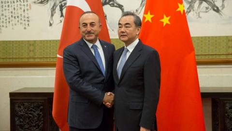 Turkey and China pledge security cooperation
