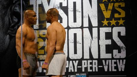Tyson comeback fight at 54 ends with draw against Jones