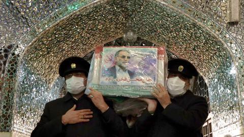 Iran prepares for slain nuclear scientist's burial