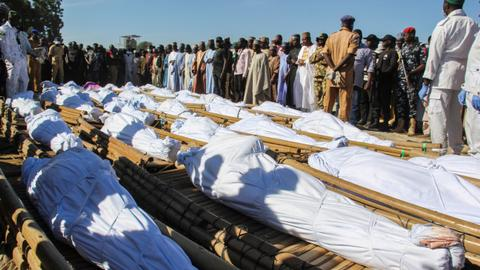 Death toll from Nigeria farm massacre rises to 110