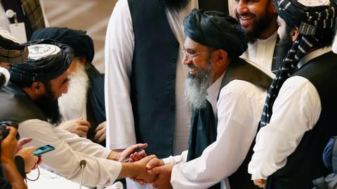 Document's wording mars Taliban-Kabul deal in Qatar
