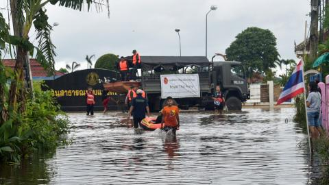 Flash floods in Thailand kill at least 23