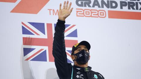 Lewis Hamilton to miss Sakhir Grand Prix after positive Covid-19 test