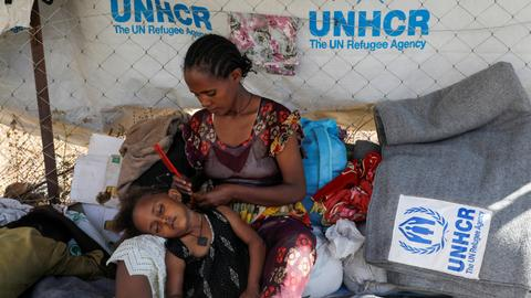 Tigray conflict: Nearly 100,000 refugees have run out of food in Ethiopia