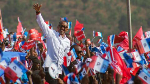 Kagame expects victory as Rwanda heads to the polls