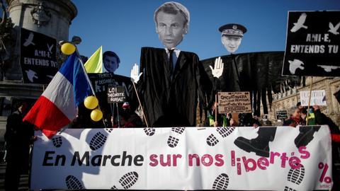 Is Macron's France hurtling towards further social unrest?