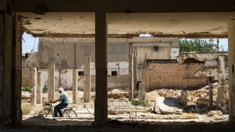 Rockets, gunfire test new Russia-backed truce near Syria's Homs